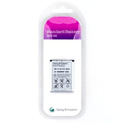 Аккумулятор Sony Ericsson BST-36 - 1