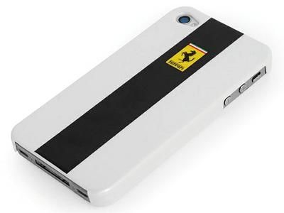 Ferrari Custodia metallic back cover for iPhone 4 - 1