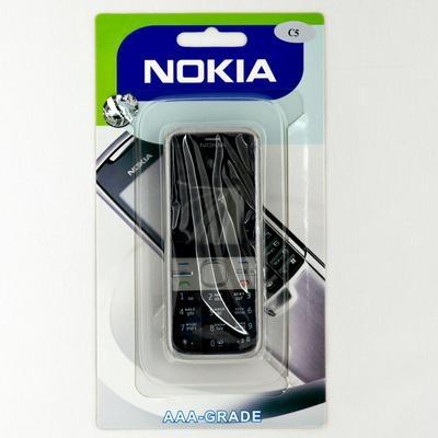 Корпус Nokia C5-00 black-черный - 1