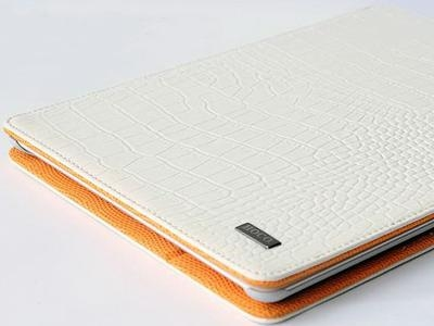 HOCO Crocodile bracket leather case for iPad 2/3/4, black - 3