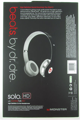 НАУШНИКИ MP3 DR. DRE SOLO(HD) - 1
