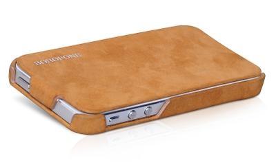 Borofone Shark flip leather case for iPhone 5 - 4