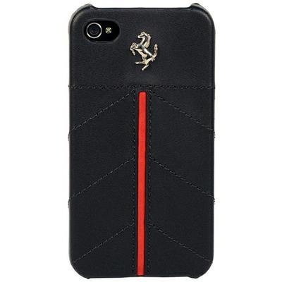 Ferrari California leather back cover for iPhone 4 - 1