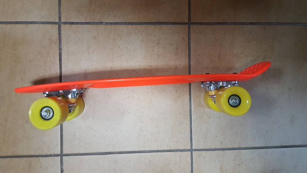 Скейт Penny Board Original Fish красный - 1