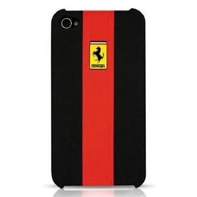 Ferrari GTR Rubber Touch back cover for iPhone 4 - 1
