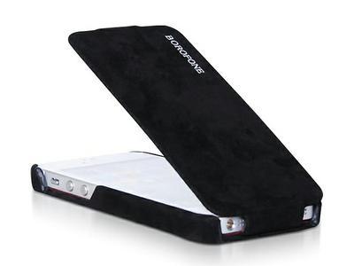 Borofone Shark flip leather case for iPhone 5 - 1
