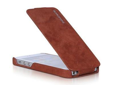 Borofone Shark flip leather case for iPhone 5 - 2