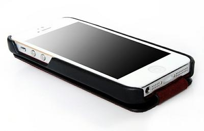 Borofone Lieutenant flip leather case for iPhone 5 - 3