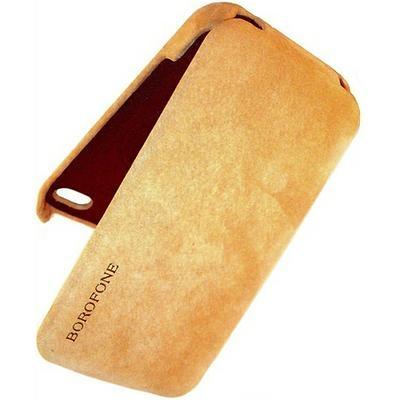 Borofone Shark flip leather case for iPhone 5 - 5