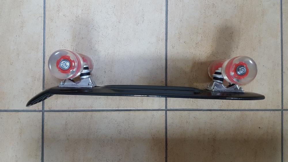 Скейт Penny Board Original Fish черный-светящиеся - 1