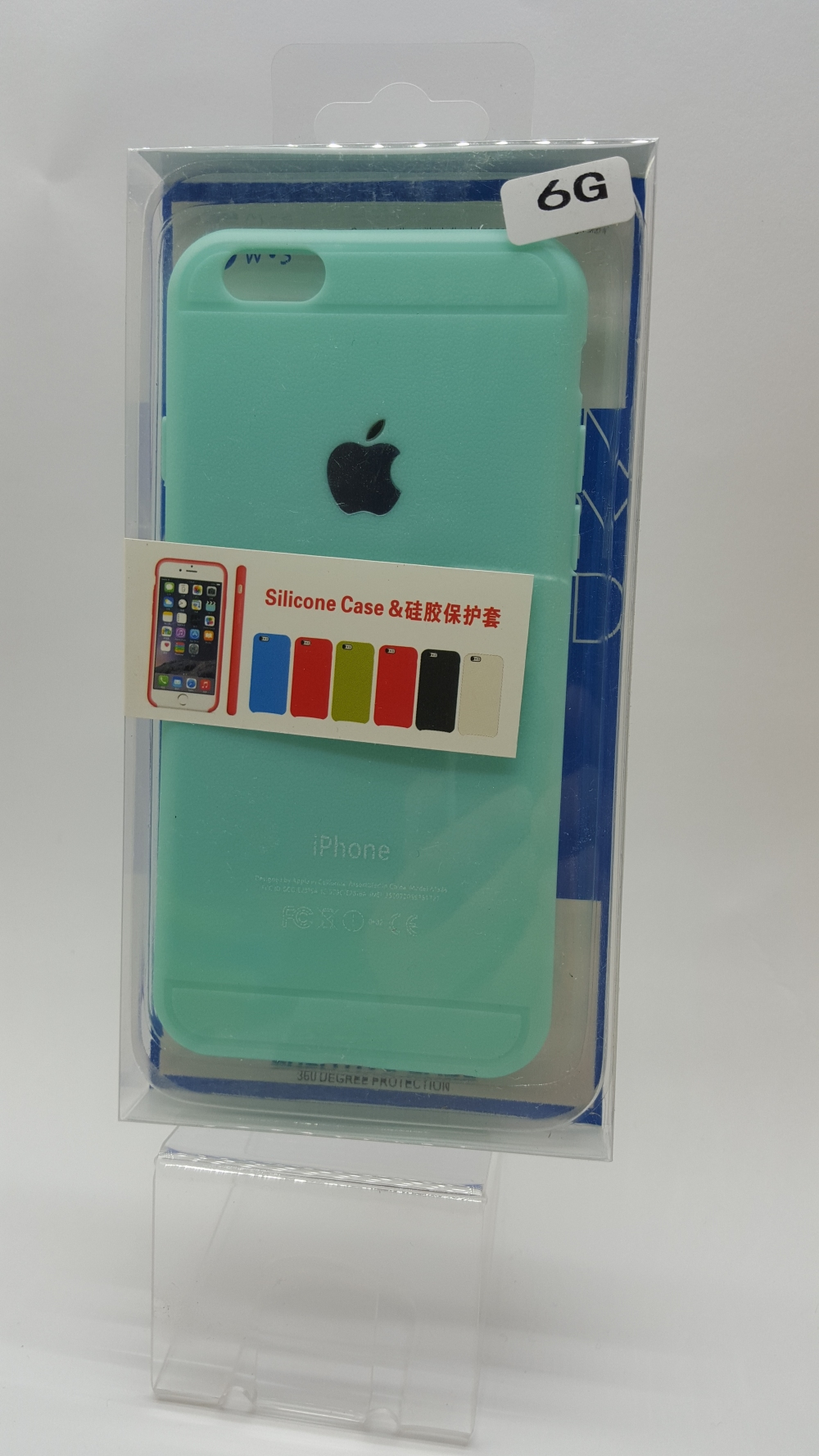 Чехол накладка Creative Case для iPhone 6/6S Blue