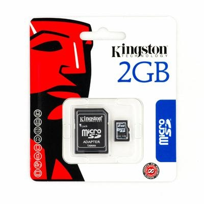 Карта памяти Kingston microSD 2Gb