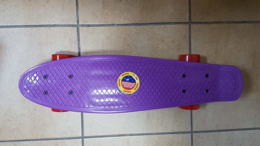 Скейт Penny Board Original Fish фиолетовый