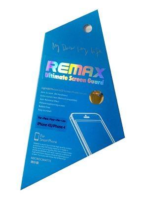 Защитная пленка Remax для iPhone 4/4s