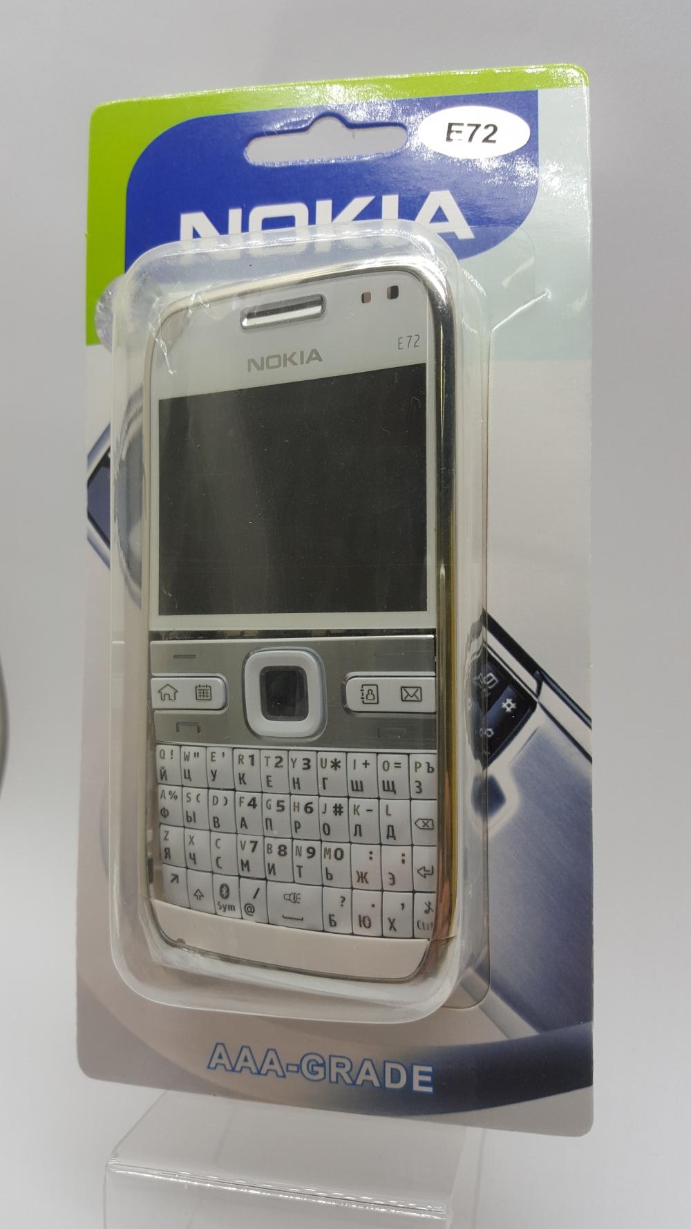 Корпус Nokia E72 white-белый