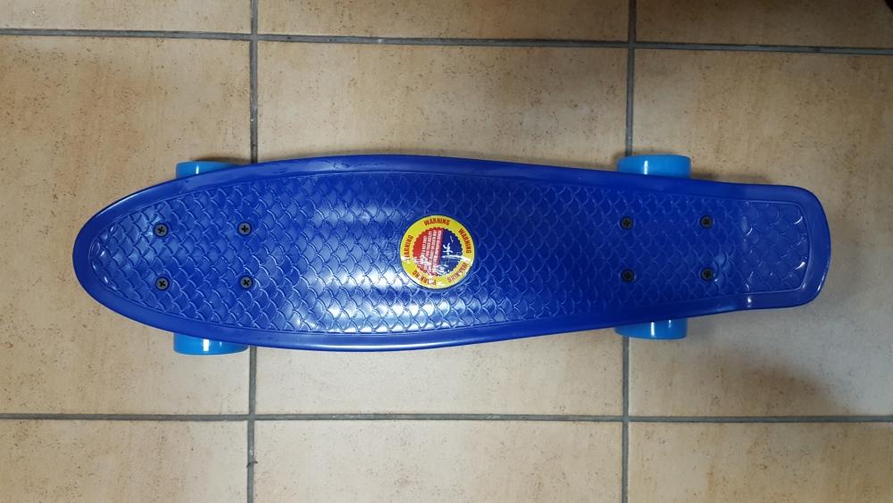 Скейт Penny Board Original Fish синий