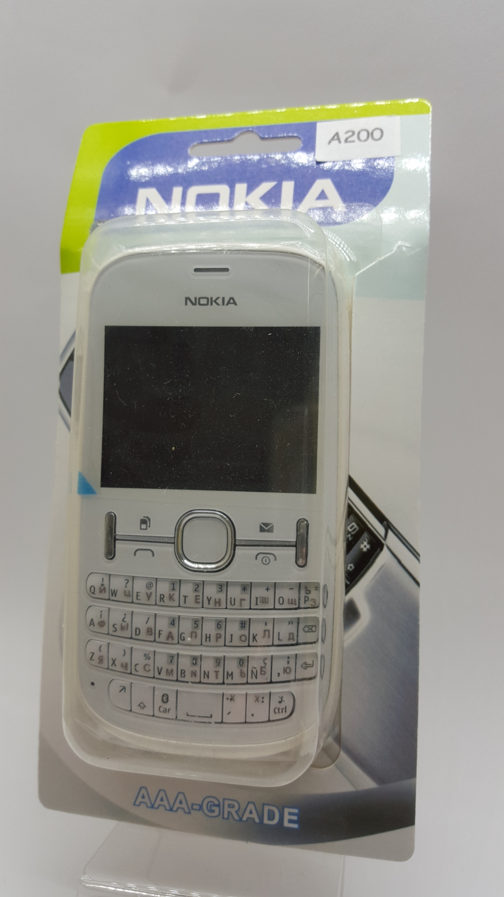 Корпус Nokia Asha 200 white - белый