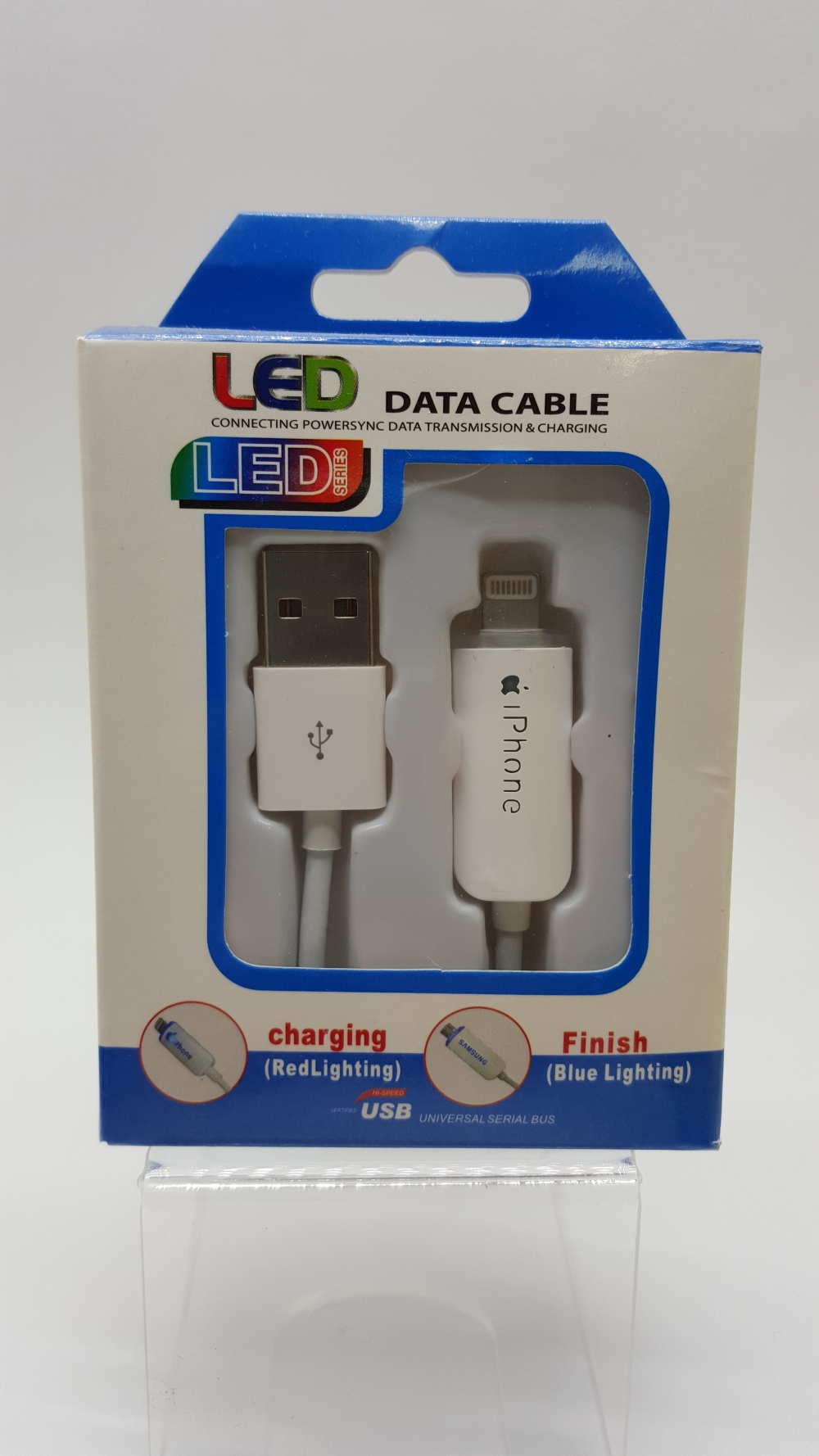 "USB Кабель ""LED"" Lightning для iPhone 5/5c/5s/6/6+/6s/6s+"