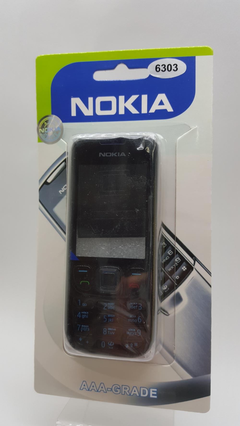 Корпус Nokia 6303 черный