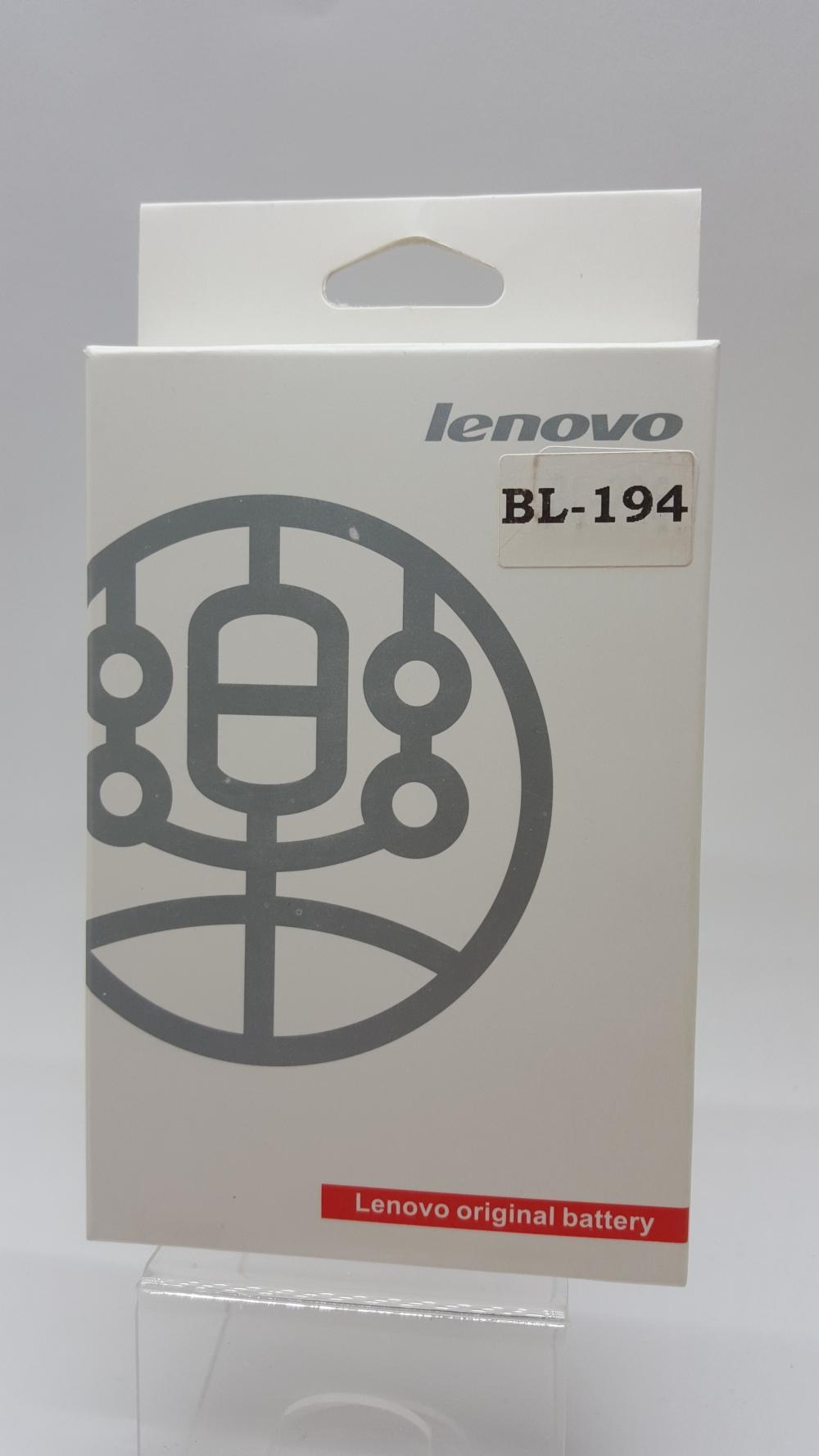 Аккумулятор Li-ion Lenovo A520/A780/S760 (BL194) Батарея 1500mAh