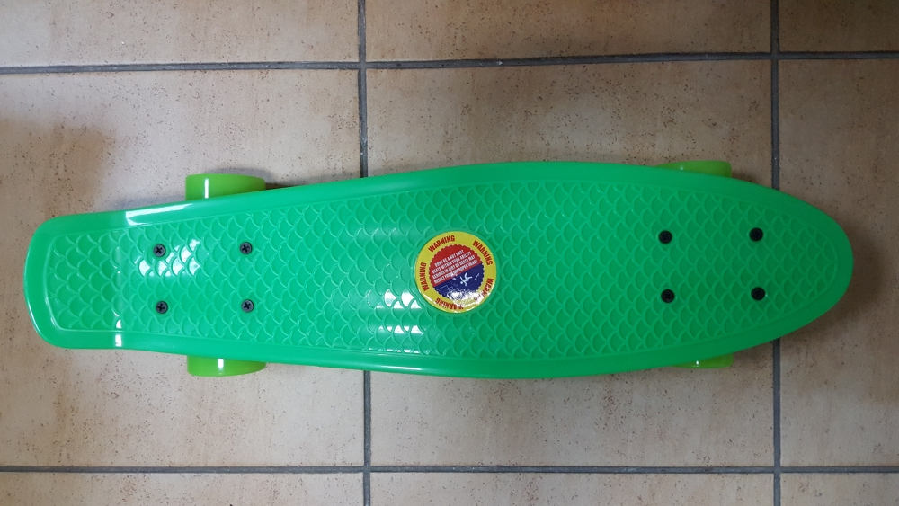 Скейт Penny Board Original Fish бирюзовый