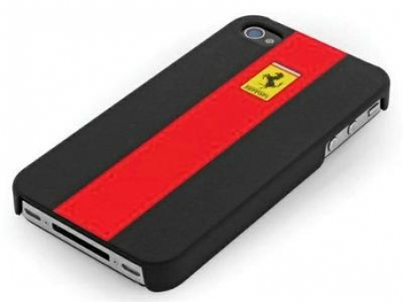 Ferrari GTR Rubber Touch back cover for iPhone 4