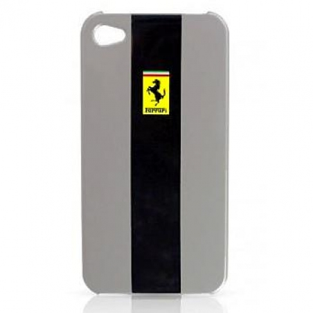 Ferrari Custodia metallic back cover for iPhone 4