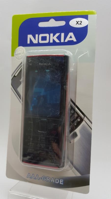 Корпус Nokia X2 black - черный