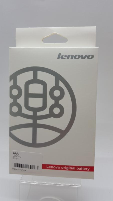 Аккумулятор Li-ion Lenovo A800/A820/S720 (BL197) Батарея 2000mAh (BML6363)