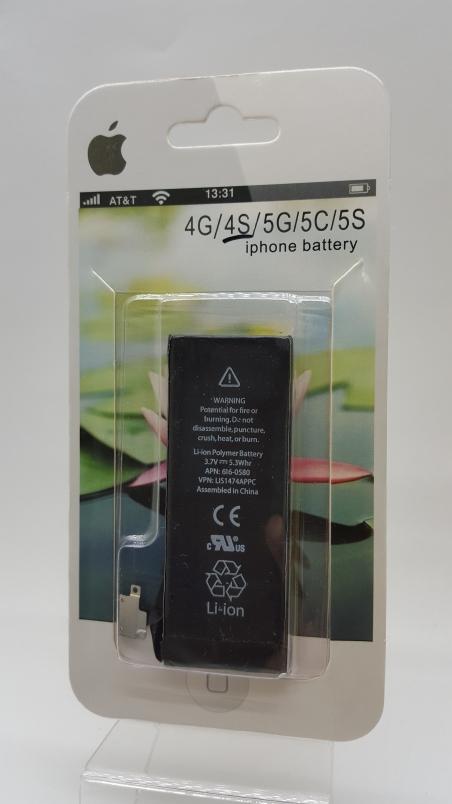 Аккумулятор Apple iPhone 4S 1430 mAh, 3.7V Батарея