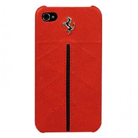 Ferrari California leather back cover for iPhone 4