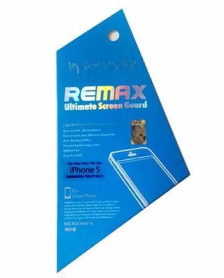 Защитная пленка Remax для iPhone 5