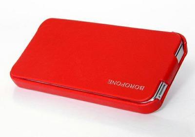 Borofone Lieutenant flip leather case for iPhone 5