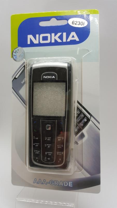 Корпус Nokia 6230i черно-серый