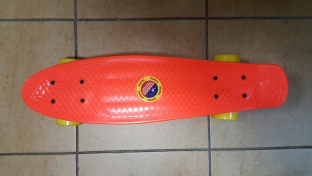 Скейт Penny Board Original Fish красный