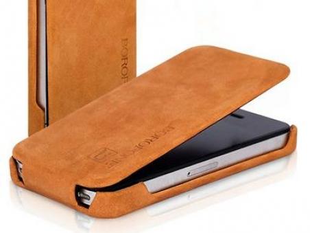 Borofone Shark flip leather case for iPhone 5